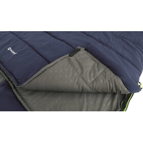 Outwell Contour Lux Double Sleeping Bag imperial blue